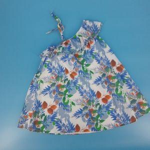 Tommy Bahama Girl's Ruffle Shoulder Swing Dress